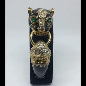 Jaguar Sparkly Bracelet